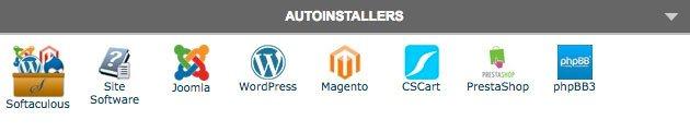 installare wordpress - siteground autoinstallers